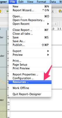 using image-field in report designer to show images based on