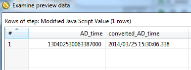 Help with converting AD dates to readable formats
