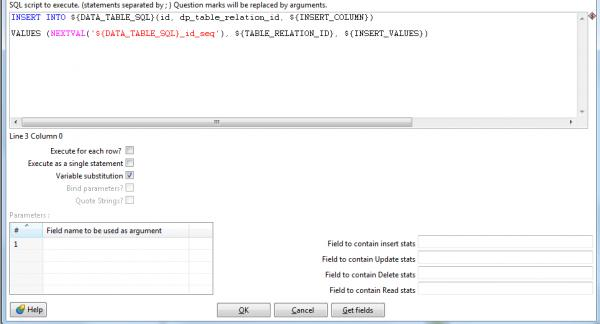 Dynamic Parameters and Query