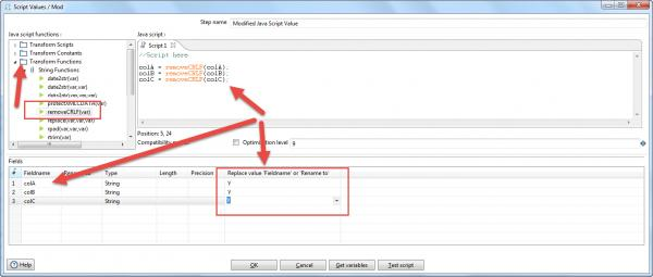 Remove Line feed and Carriage return from CSV input